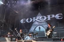 Europe @ Hellfest (Clisson) - 22 juin 2018