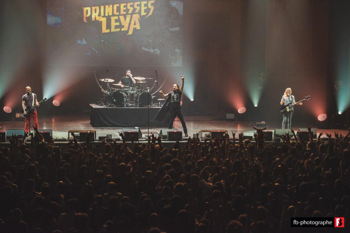 Princesses Leya @ Warmup Hellfest (Zenith Nantes) - 30 avril 2019