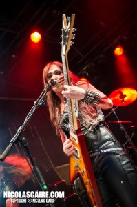 Crystal Viper @ Lezard'Os Metal Fest , Matignicourt  09052014_14173381294_l
