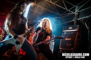 Nightmare @ Lezard'Os Metal Fest , Matignicourt  09052014_14150397366_l