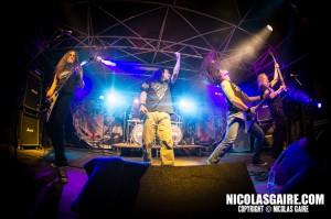 Nightmare @ Lezard'Os Metal Fest , Matignicourt  09052014_14170862892_l