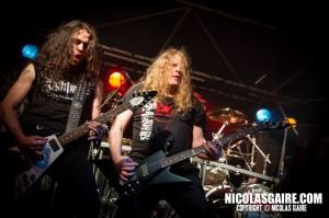 Nightmare @ Lezard'Os Metal Fest , Matignicourt  09052014_14193625693_l
