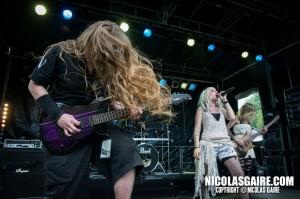 Noein @ Lezard'Os Metal Fest , Matignicourt  09052014_14149335026_l