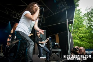 Secret Sphere @ Lezard'Os Metal Fest , Matignicourt  09052014_14170024632_l