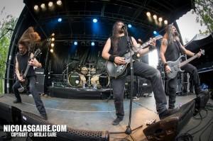 Svart Crown @ Lezard'Os Metal Fest , Matignicourt  09052014_13986359627_l