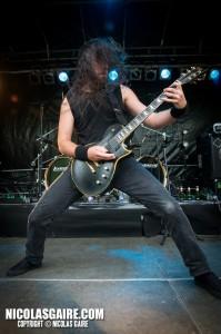Svart Crown @ Lezard'Os Metal Fest , Matignicourt  09052014_14170216682_l