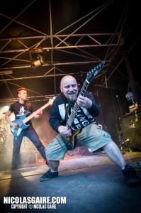 Benighted @ Lezard'Os Metal Fest , Matignicourt  10052014_13989709127_l