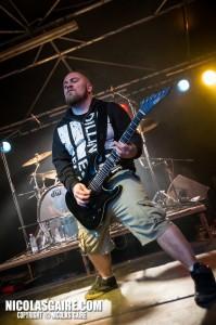 Benighted @ Lezard'Os Metal Fest , Matignicourt  10052014_14153339926_l