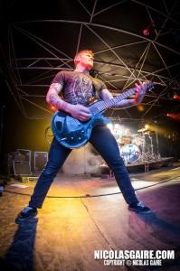Benighted @ Lezard'Os Metal Fest , Matignicourt  10052014_14176613104_l